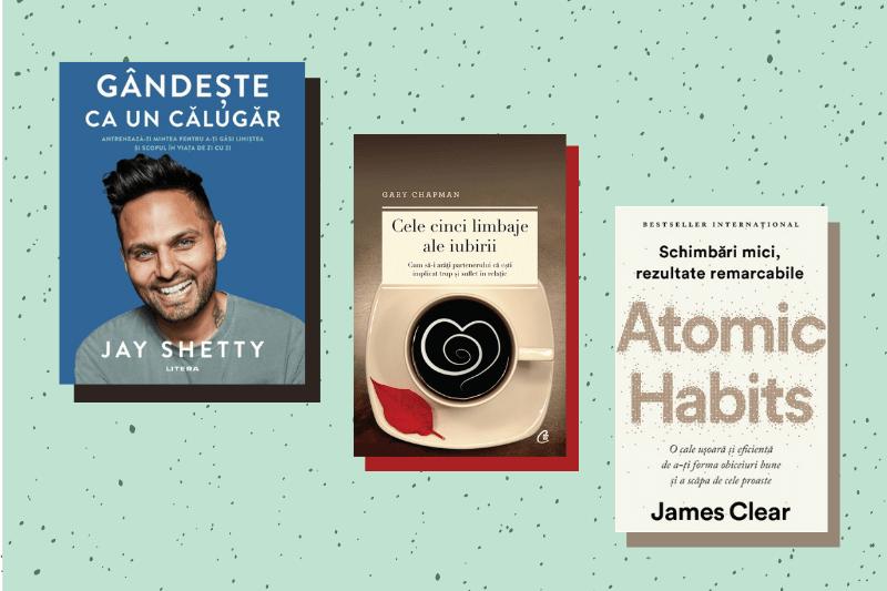 Trei cărți pentru dezvoltare personală