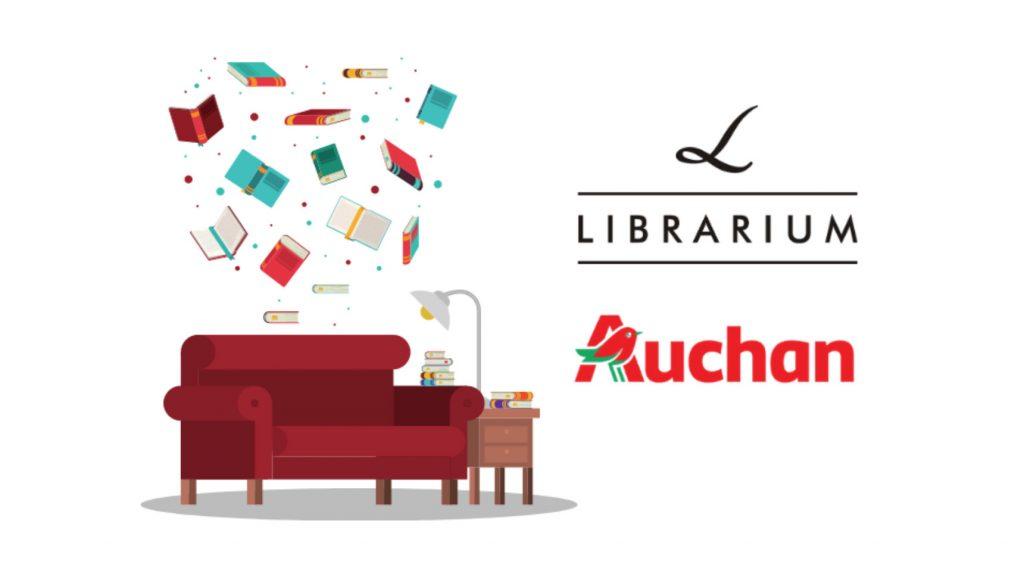 Lista completă a noilor librării Librarium din hipermarketurile Auchan