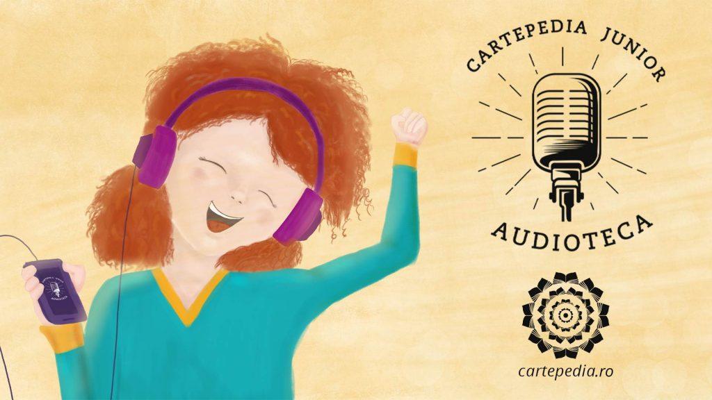 A apărut primul episod din Cartepedia Junior – Audioteca